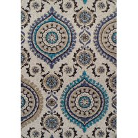 Modern Rugs For Living Room 2x3 Small Rugs for Bedroom 2x4 Entrance Rug Washable Gray Blue Navy Beige