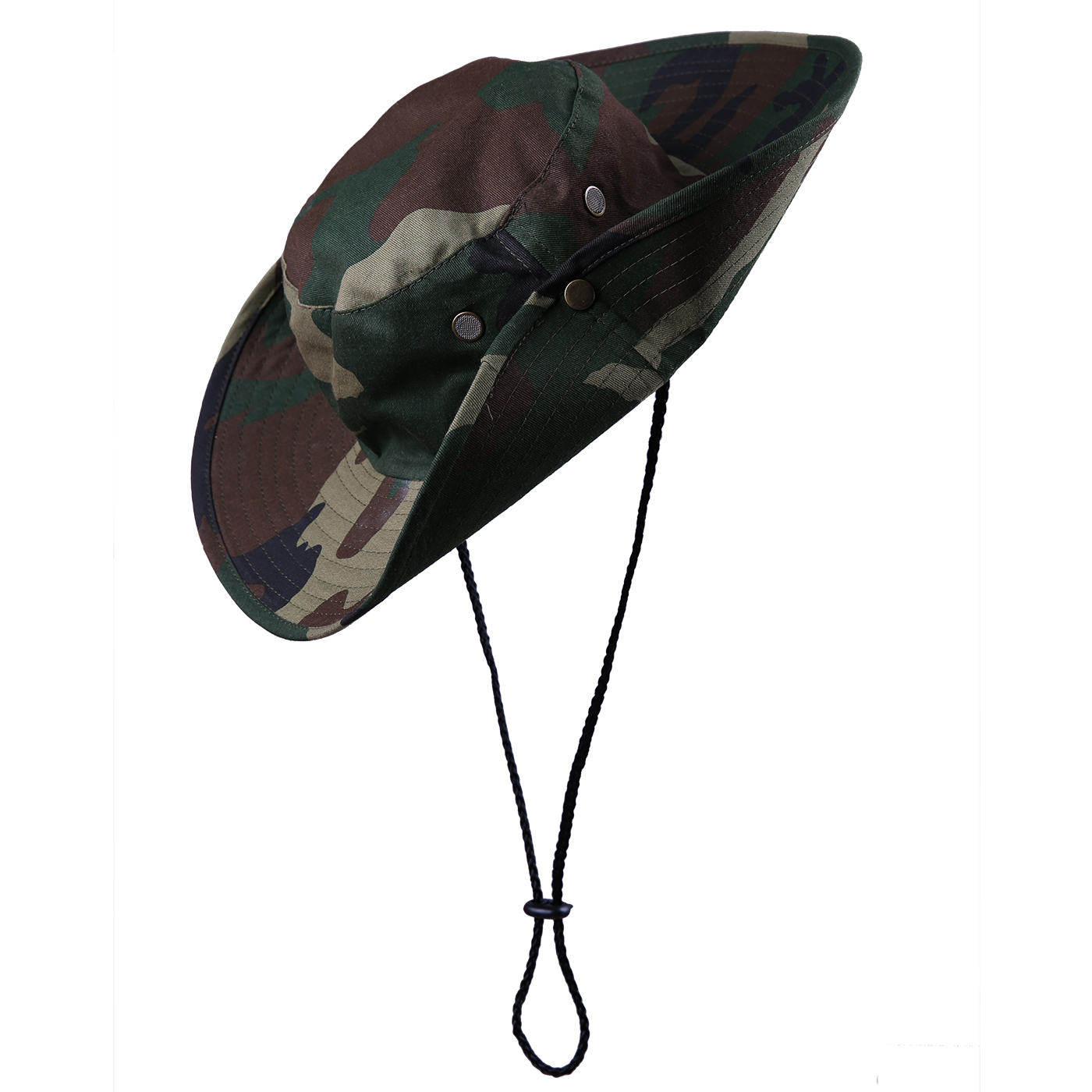 HDE Men's Bucket Hat Side Snap Boonie Hat Outdoor UV Sun Protection...