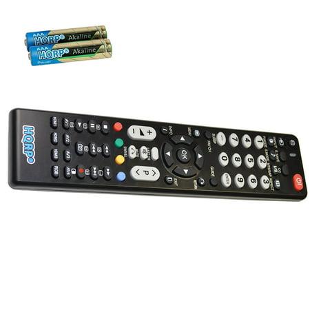 HQRP Remote Control for Hitachi CMP4211, CMP4212, CMP5000WXU, EN32956H, L32A104 LCD LED HD TV Smart 1080p 3D Ultra 4K Plasma + HQRP Coaster