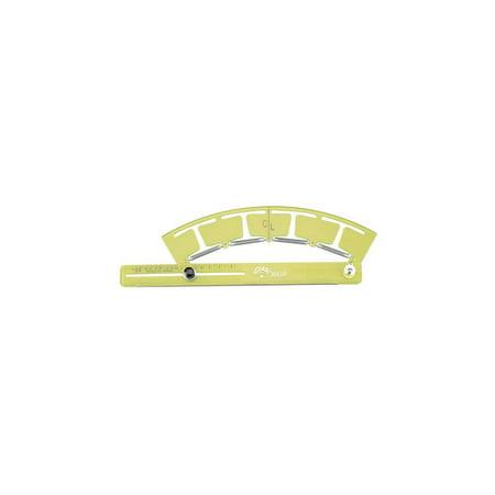 Adjustable Ruler with Radius Arc Measurement - Acu-Arc (Inches)