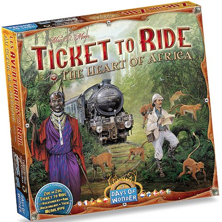 Days of Wonder Ticket to Ride: Heart of Africa