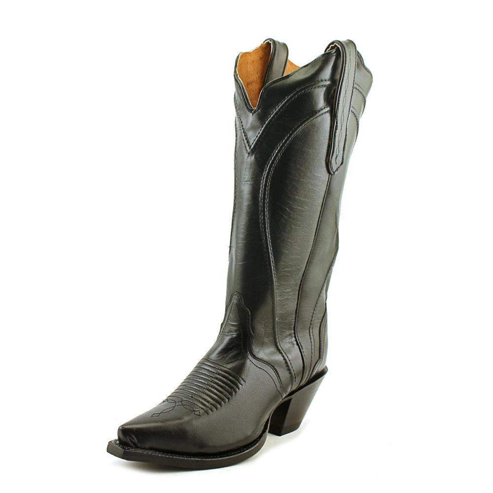Nocona NL5307 Women  Pointed Toe Leather Black Western Boot