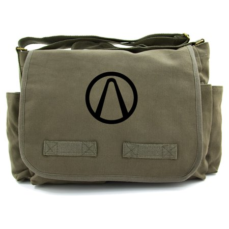 Borderlands Vault Heavyweight Canvas Messenger Shoulder