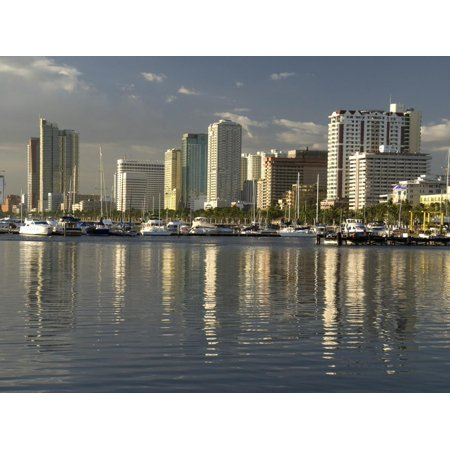 Malate District on Shore of Manila Bay, Manila, Philippines, Southeast Asia, Asia Print Wall