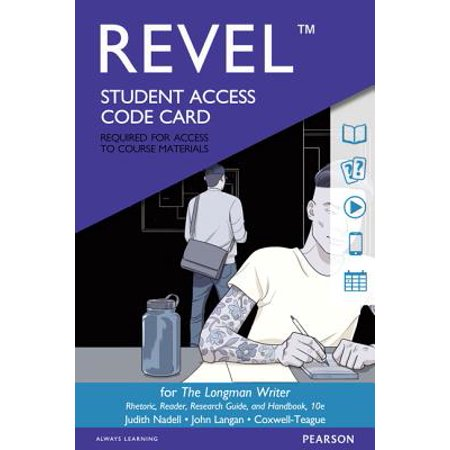 The Longman Writer Revel Access Card