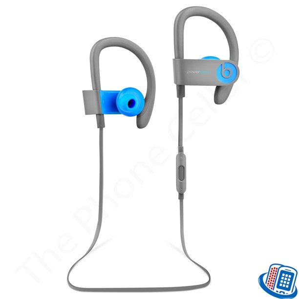Refurbished Beats By Dr Dre Powerbeats 3 Wireless Active Blue Bluetooth Ear Hook Headphones Walmart Com Walmart Com