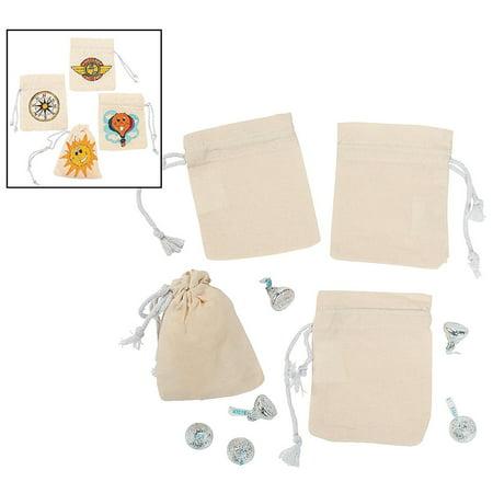 DIY Mini Drawstring Bags (12 Pcs.) - Diy Halloween Gift Bags