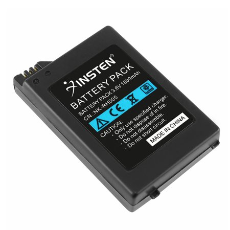 Insten Rechargeable Lithium Battery Pack For Sony PSP 1000 1001 Battery Replacement 3.6V 1800mAh