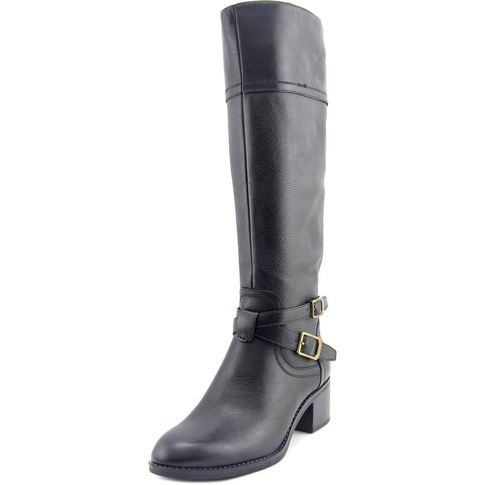 Franco Sarto Lapis Wide Calf Women Round Toe Boots by Franco Sarto