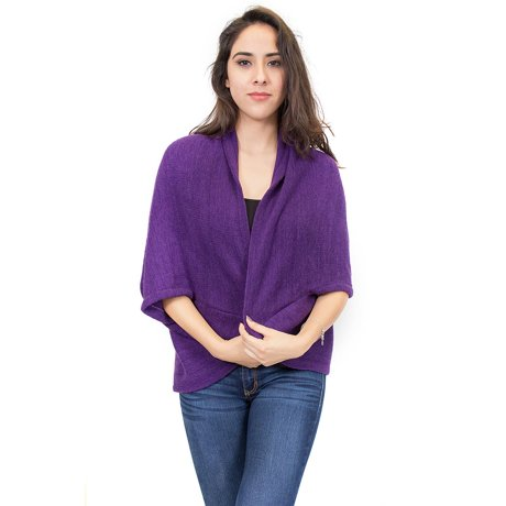 Zodaca Elegant Poncho Capes Shawl Cardigans Sweater Jacket ... - photo#17