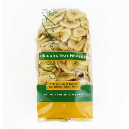 Sierra Nut House - Banana Chips, Organic - 12oz