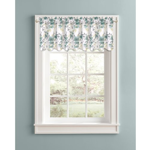 Better Homes and Gardens Watercolor Mums Window Valance by Colordrift LLC