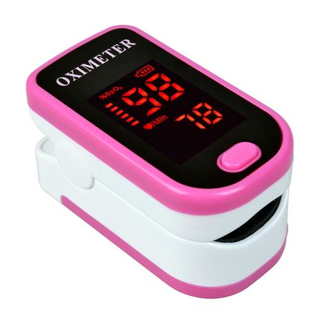 Household Finger Pulse Oximeter Lightweight Portable Blood Oxygen SpO2 Monitor Heartbeat Saturation Product Multicolor
