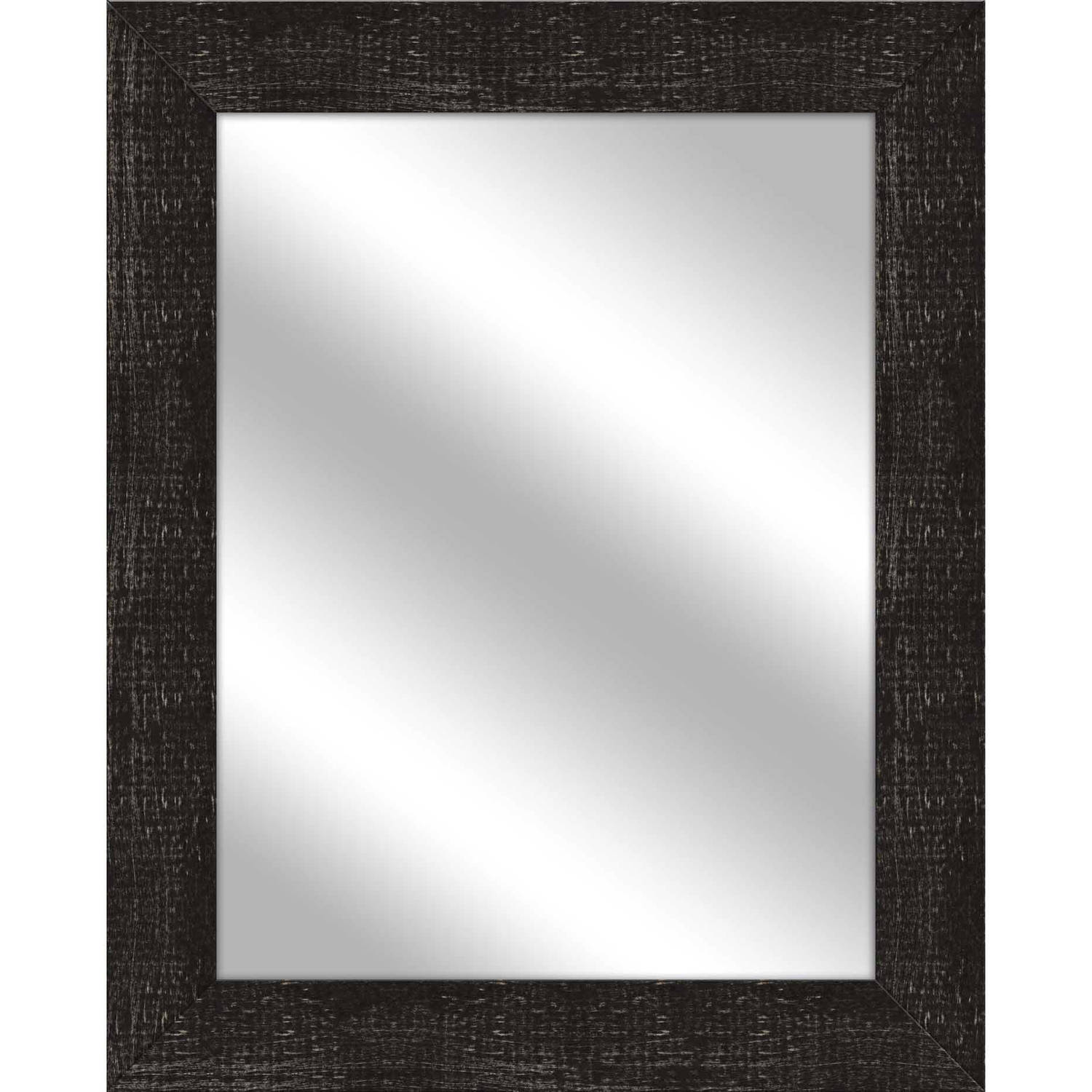 Vanity Mirror, Stone Gray, 25.5x31.5 by PTM Images