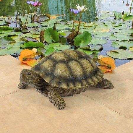 Resin Turtle (Design Toscano Gilbert the Box Turtle Statue )