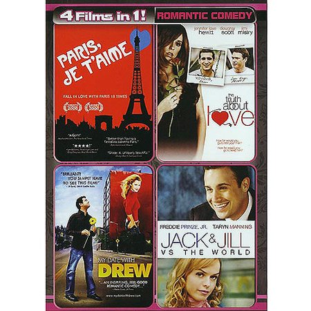 Four Movies in One: Romantic Comedy  (Paris Je T'Aime / The Truth About Love / My Date with Drew / Jack and Jill vs. The World)](Halloween Date In Usa 2017)
