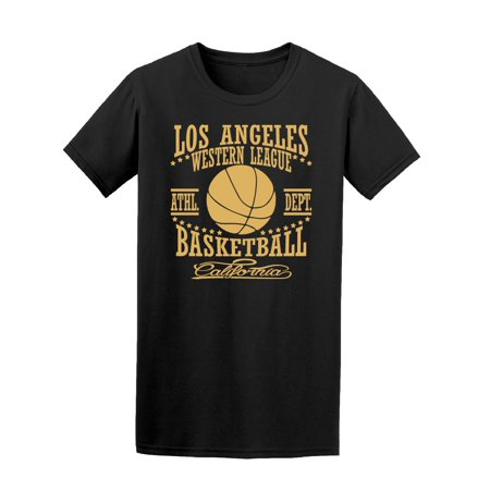 Los Angeles Basketball League Tee Men's -Image by (Best Fantasy Basketball League)