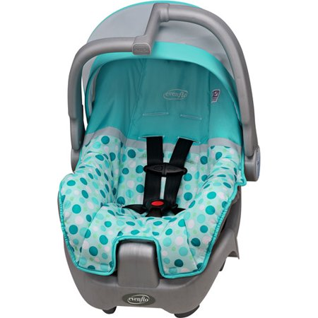 evenflo discovery 5 infant car seat confetti aruba blue. Black Bedroom Furniture Sets. Home Design Ideas