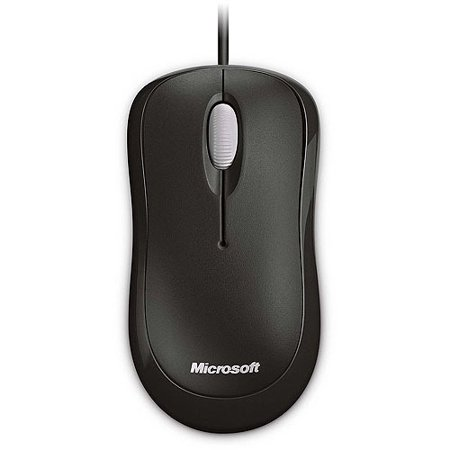 Microsoft Basic Optical Mouse for Business - mouse - PS/2 USB - black
