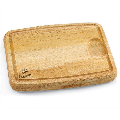 Mundial Small Solid Wood Cutting Board