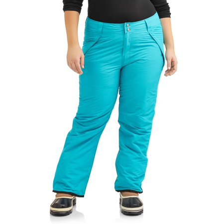 - Iceburg Women's Plus Size Insulated Snow Pull-On Ski Pants