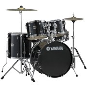 Yamaha GM2F56BLG Gigmaker Standard 5-Piece Drum Set with Hardware, Black Glitter