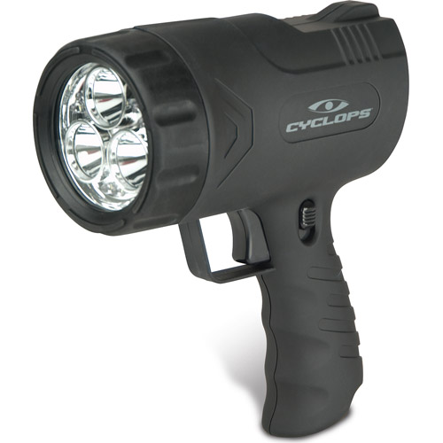 Cyclops Sirius 500 Lumen Handheld Rechargeable Spotlight with Six LED Lights
