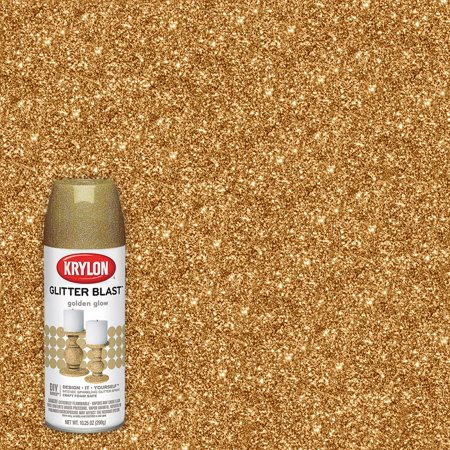 Krylon Glitter Blast, Golden Glow, 5.75 oz.