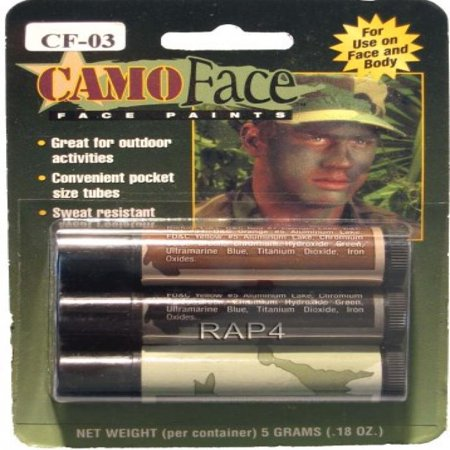 Camouflage Face Paint Stick - paintball apparel