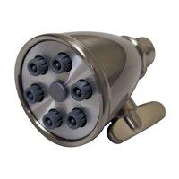 Whitehaus WH138 2-Spray Shower Head - Brushed Nickel