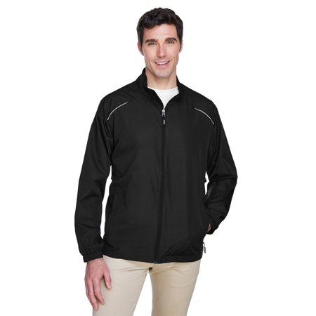 A Product of Ash City - Core 365 Men's Motivate Unlined Lightweight Jacket - BLACK 703 - L [Saving and Discount on bulk, Code - Party City Discount Code