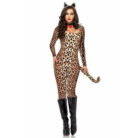 Leg Avenue Cougar Adult Womens - Womens Leopard Costume