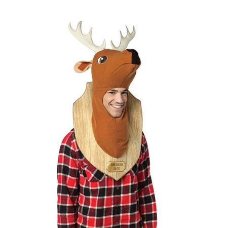 Oh Deer Trophy Adult Halloween Accessory](Whitetail Deer Costume)