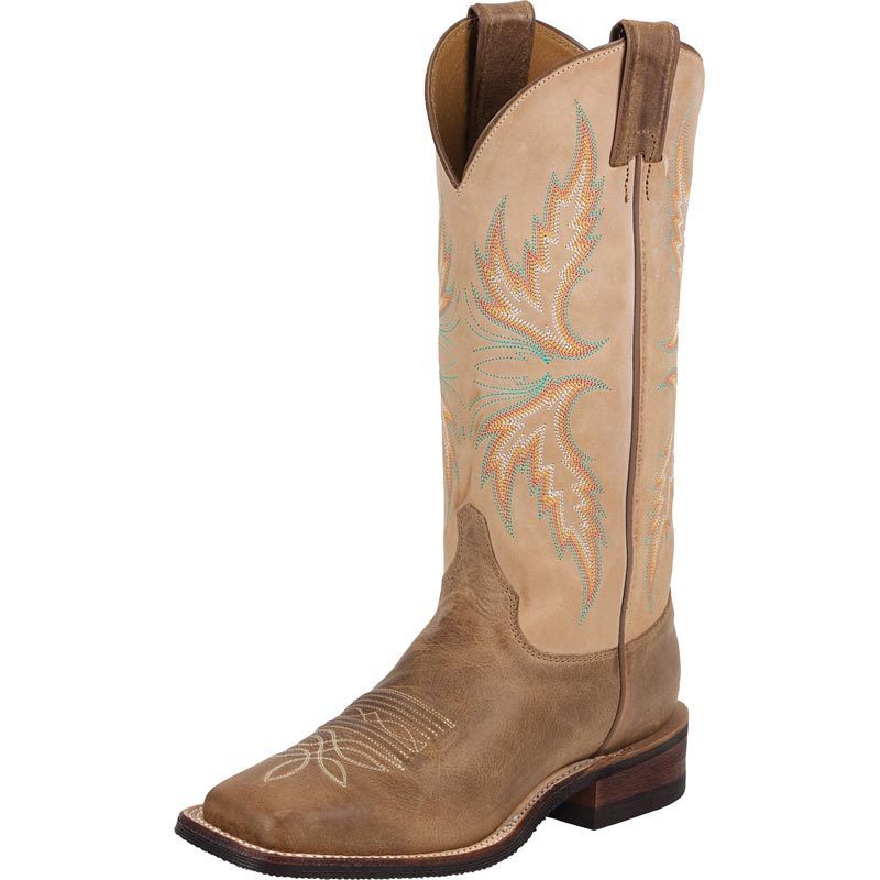 Justin Women's Bent Rail Boots - Brown (9)