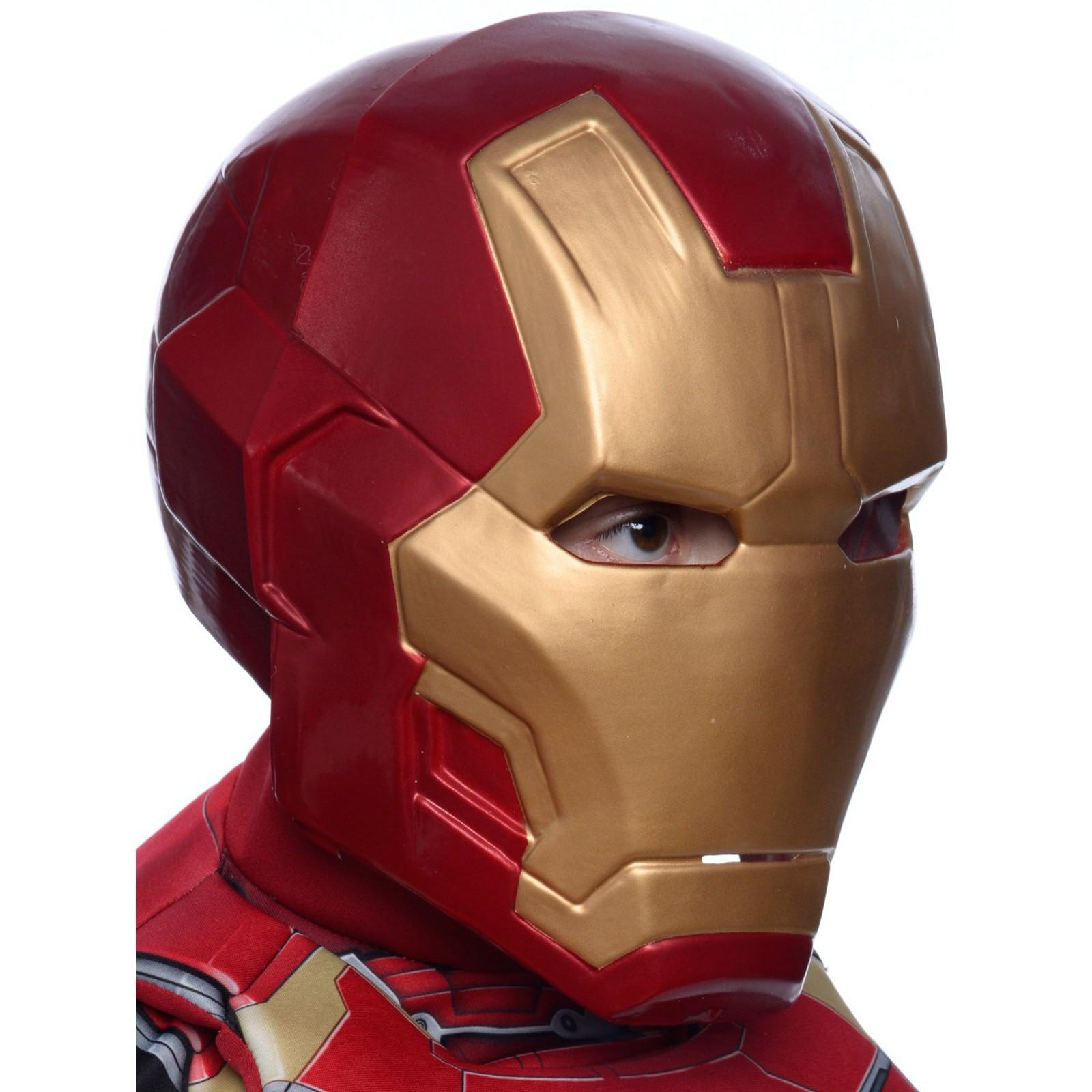Kids Iron Man Two Piece Mask