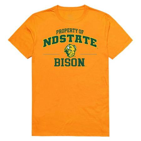 North Dakota State University Bison Thundering Herd Property Tee T-Shirt