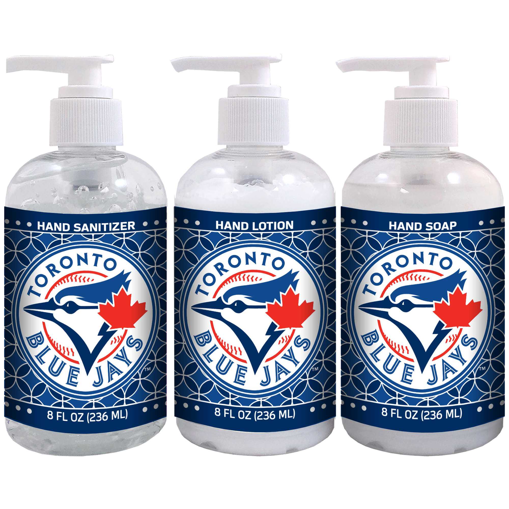 Toronto Blue Jays 8oz. Hand Care 3-Piece Set - No Size