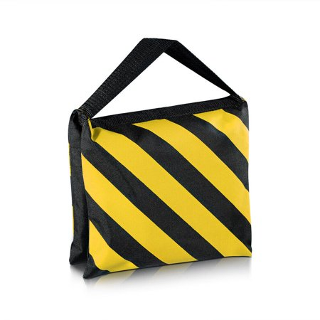 4PCS Black/Yellow Heavy Duty Sand Bag Studio Stage Film Sandbag Saddlebag - image 3 of 7