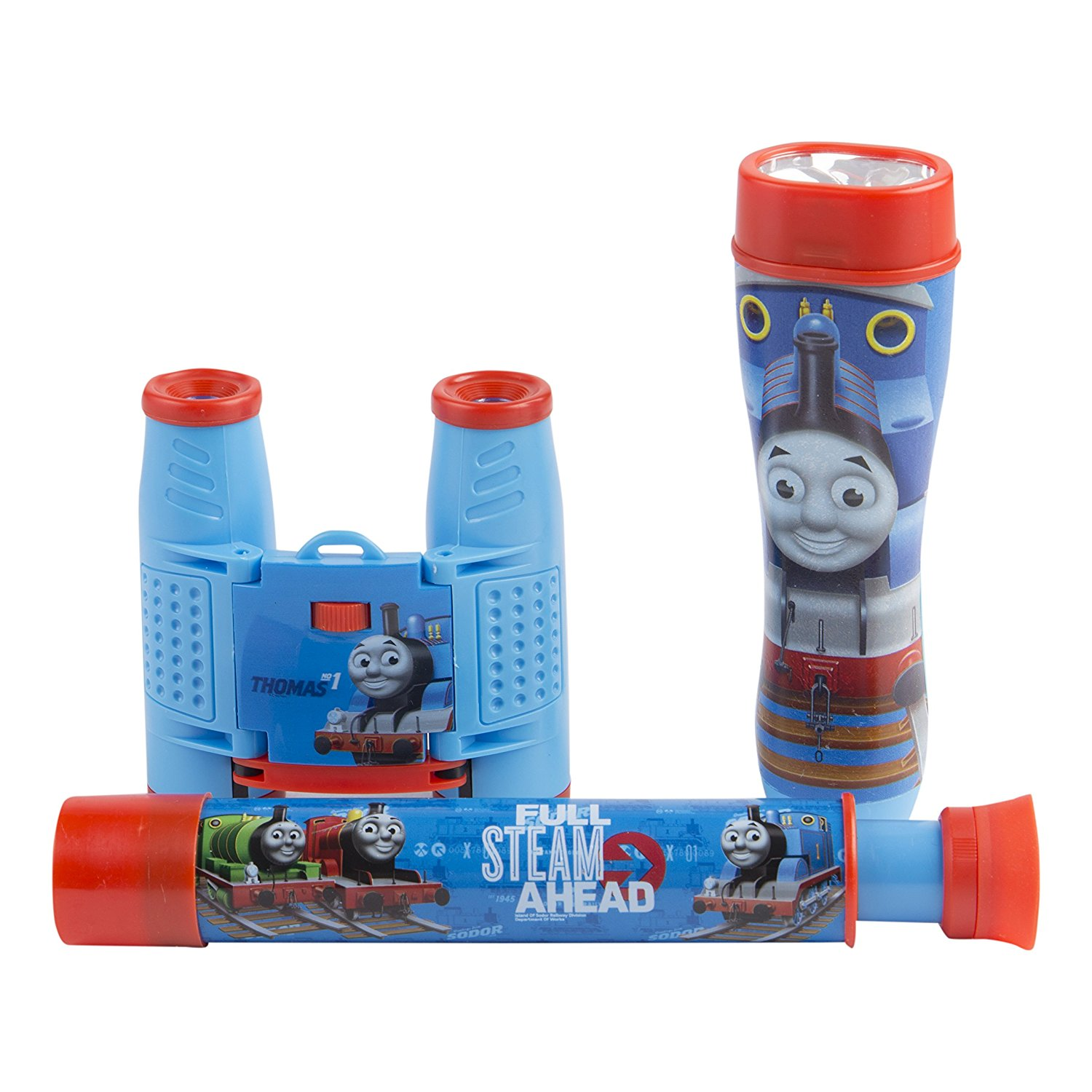 Thomas and Friends 3-Piece Adventure Kit with Binoculars, Flashlight, Telescope