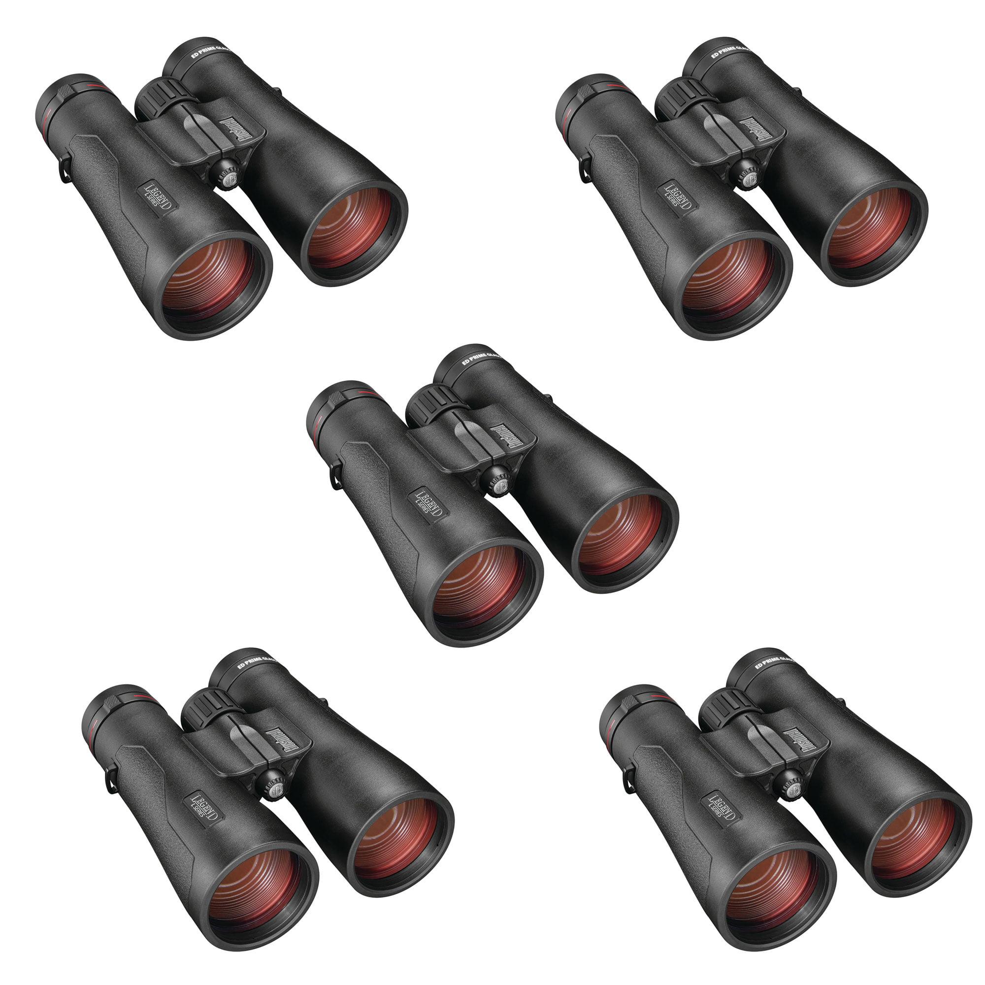 Bushnell Legend L Series 12x 50mm Waterproof Hunting Binoculars, Black (5 Pack)