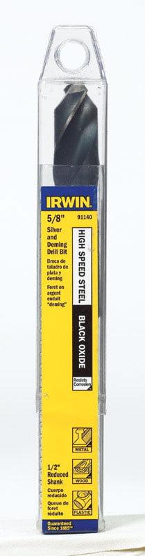 Qualtech 45//64 HSS Reduced Shank Drill Bit x 3//8 Shank