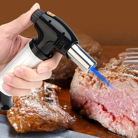 Kitchen Butane Torch,Yosoo Professional Kitchen Butane Blow Torch  Adjustable Flame for Meat Seafood Kitchen Torch | Walmart Canada