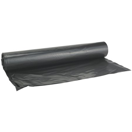 Film Gard Polyethylene Black Plastic Sheeting Walmart Com