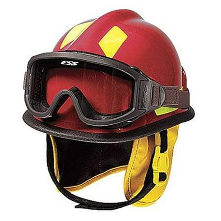 CAIRNS C-MOD-B2B111200 Fire and Rescue Helmet, Red, Modern