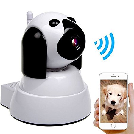 Dog IP Cam White Wireless Security Camera HD 720P WiFi Baby Cam Pet Monitor (Samsung Ip Cam)