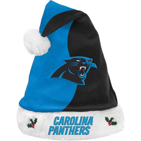 Carolina Panthers Gifts (Forever Collectibles NFL Basic Santa Hat, Carolina)