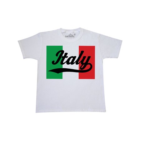 Italian Girl (Italy Flag Youth T-Shirt)