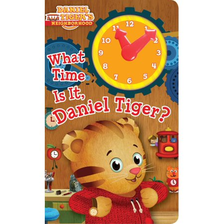 What Time Is It, Daniel Tiger? (Board Book) (Daniel Tiger Dress)