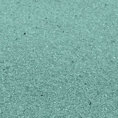 Aqua Blue Crystalline Quartz Sand
