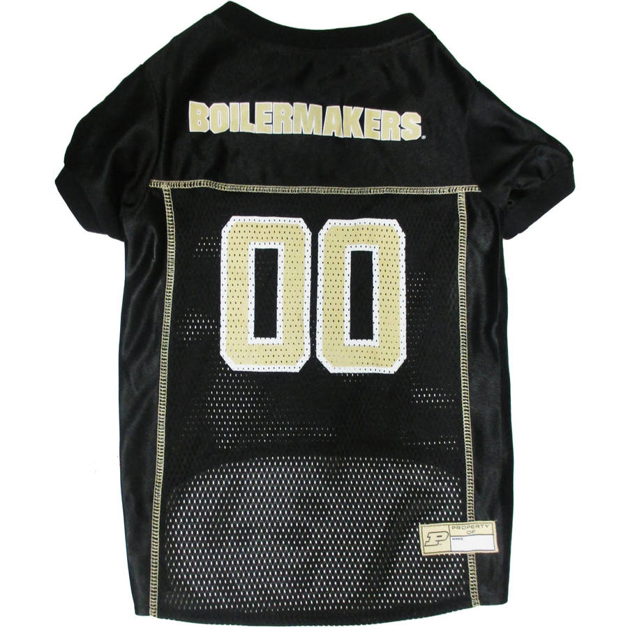 Pets First College Purdue Boilermakers Collegiate Dog Jersey, Available in Various Sizes